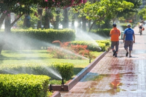 Richardson sprinkler repair